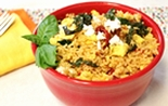 Mediterranean Breakfast Kale Rice Bowl