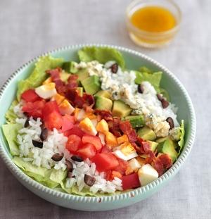 「コブサラダ風 カル・ボウル」のレシピをご紹介!【ヤミーさんの毎日野菜を食べたくなるカル・ボウル】