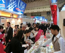 FOODEX JAPAN USAライス会場