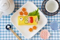 """カリフォルニアのおコメ「カルローズ」で作る、""""ハッピーイベントレシピ """"カルローズのこいのぼりちらし寿司"""