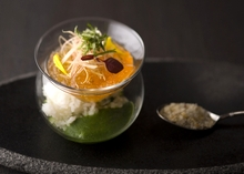 シェラトン都ホテル東京の季節限定/夏の清涼メニュー登場!『食べる冷製スープ カルローズ』