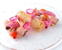 ホテル日航福岡 テーマレストラン「レ・セレブリテ」第5回カルローズ料理コンテスト2017入賞作品を特別提供中
