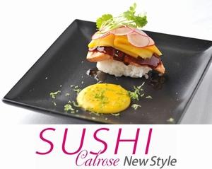 コンテスト入賞メニュー「ワインビネガーのシートを纏った炙りサーモンのカルローズSUSHI」が『宮古島東急ホテル&リゾーツ』のレストランに登場!