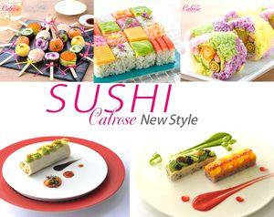 クリスマスにSUSHIケーキでパーティーを!カリフォルニア米「カルローズ」で作るSUSHIニュースタイル