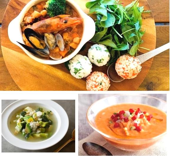 カルローズの食べるスープレシピをご紹介 ~お手軽&ヘルシー、温製・冷製スープ~